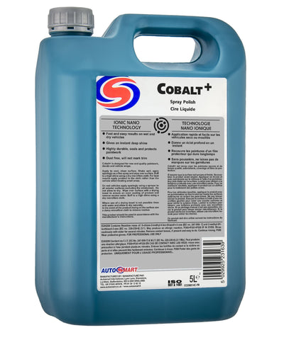 Autosmart Cobalt, Nano Spray Polish & Sealant - 5 Litres