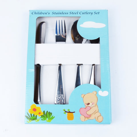 4pc Childrens Cutlery Set