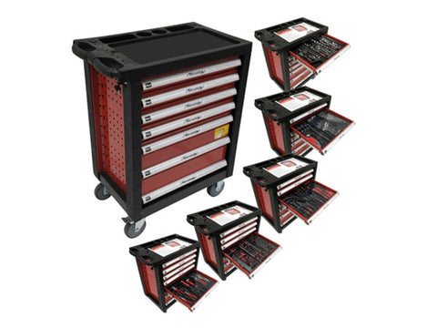 Neilsen 7 Drawer Roller Tool Cabinet with Tools