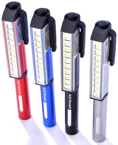 Aluminium SMD Pocket Torch With Batteries