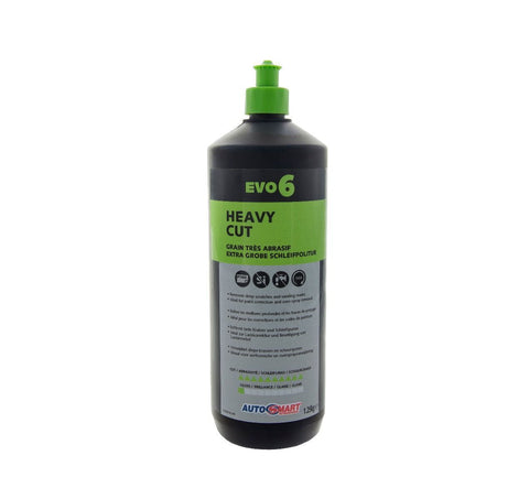Autosmart Evo 6 Heavy Duty Cutting Compound - 1 Litre
