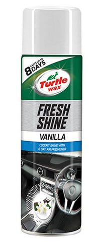Turtle Wax Fresh Shine Cockpit Shine Vanilla - 500ml