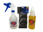 AutoSmart Kit Highstyle 500ml, Red7 600ml & 3 Tyre Applicators