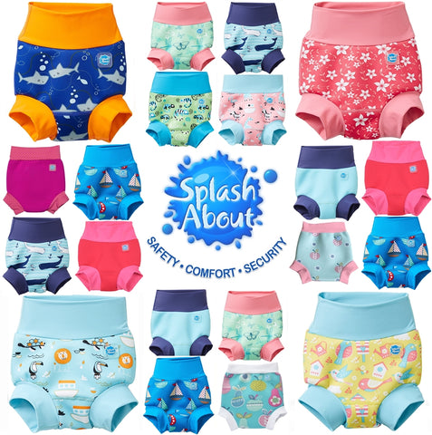 Splash About Happy Nappy, Reusable Baby Swim Nappies