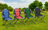 Hyfive Deluxe Folding Padded Camping Chairs
