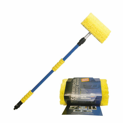 Telescopic Wash Brush - Medium Super Flow - 1.8m