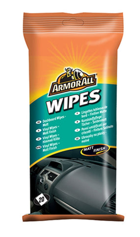 ArmorAll Dashboard Wipes (Gloss Finish)
