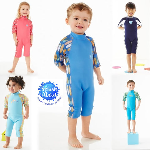 Splash About UV Combie Kid's Wetsuit 1-6 Years