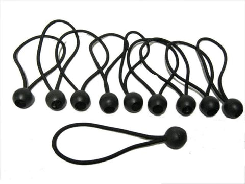 Ball Bungee Loop Shock Cords 10PK