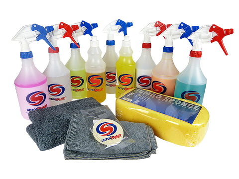 Autosmart Car Cleaning Kit Full Valet Pack
