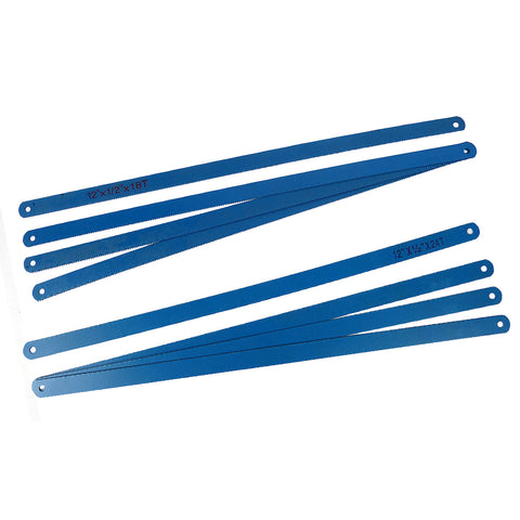 300mm Hacksaw Blades Saw Refills 8pc