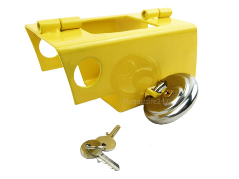 Hyfive Hitch Lock With Padlock