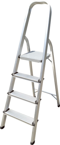 Hyfive Aluminium 4 Step Ladder Lightweight