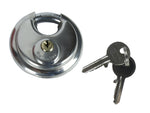 70mm Discus Shackle Padlock With 2 Keys