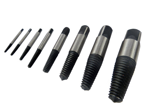 Screw Extractor Set 8pc 4mm-24mm