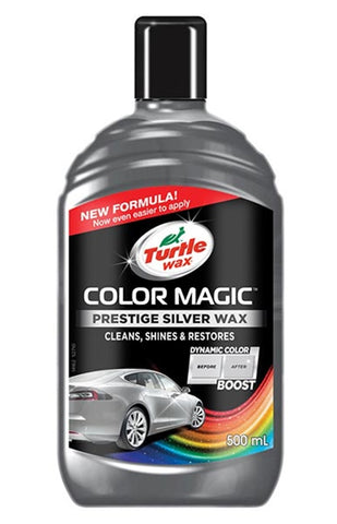 Turtle Wax Color Magic Prestige Silver Wax - 500ml