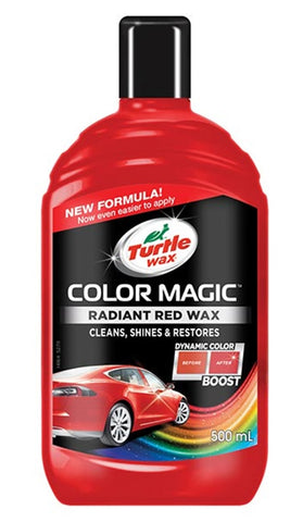 Turtle Wax Color Magic Radiant Red Wax - 500ml
