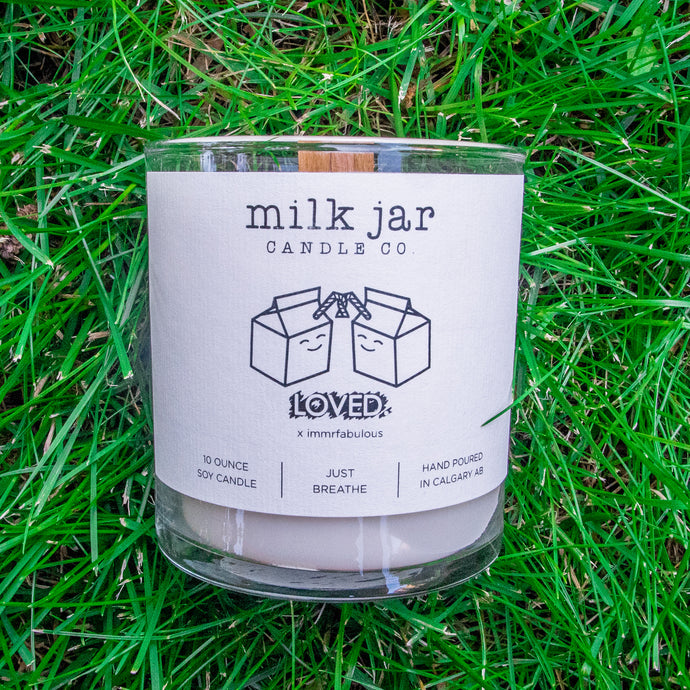 LOVED. by Milk Jar Candle -