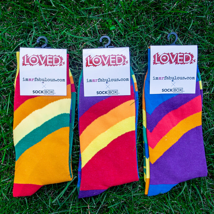 LOVED. by Sock Box -