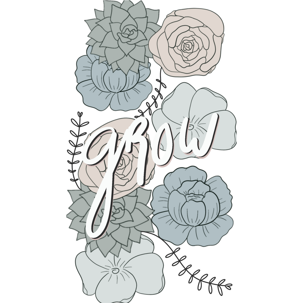 Grow Sticker