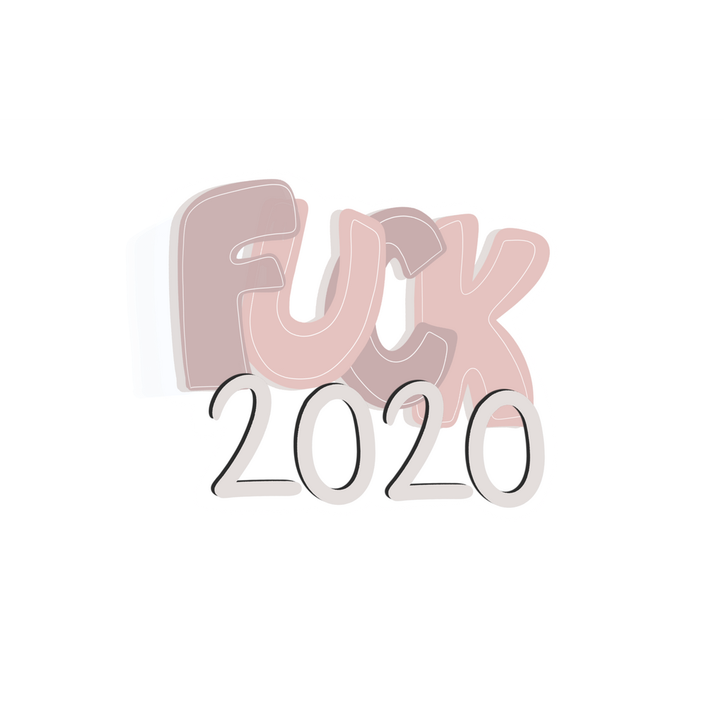 Fuck 2020 sticker