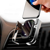 Support iPhone Voiture Chargeur iPhone grille d'aération