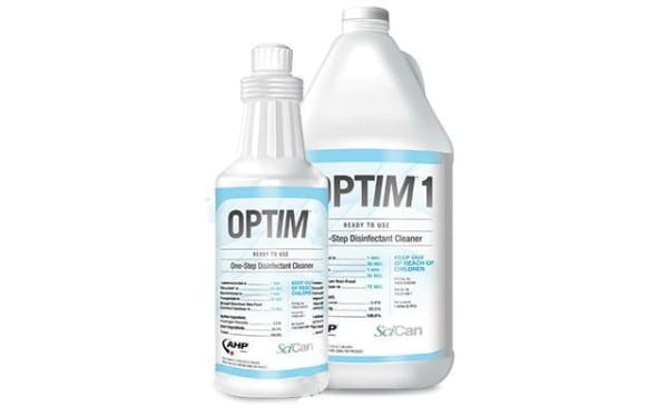 Optim 1 One-Step Disinfectant Cleaner - Surface Disinfectant