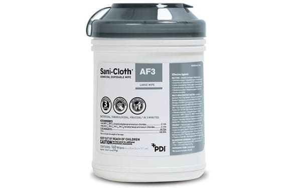 Sani-Cloth AF3 Germicidal Wipes - Surface Disinfectant Wipes