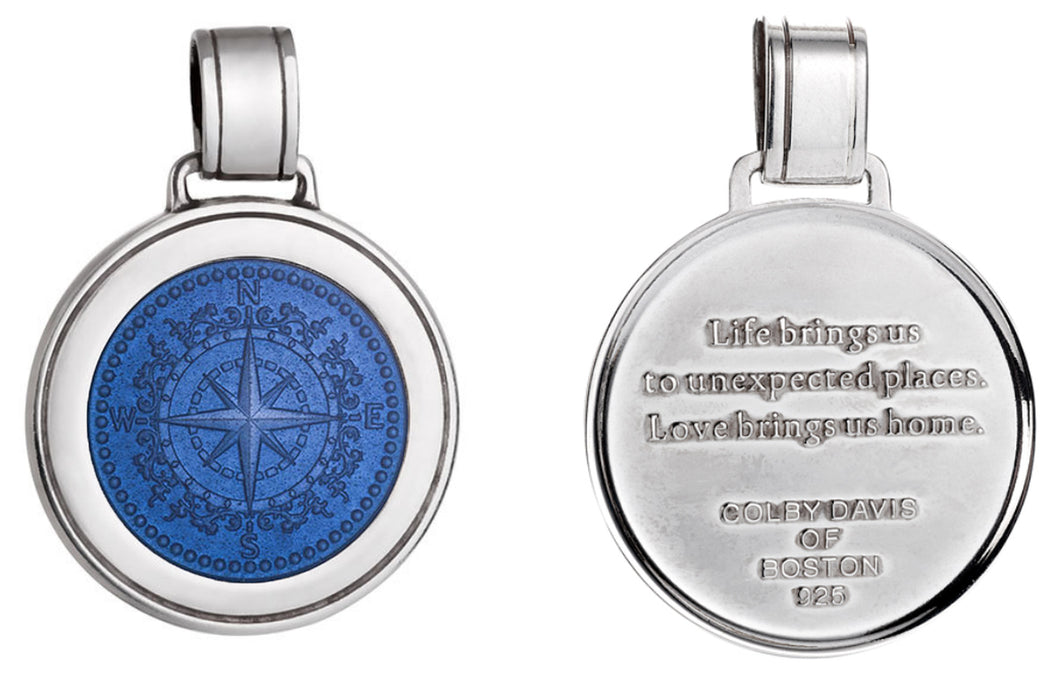 Colby Davis Pendant: Compass Rose - Large