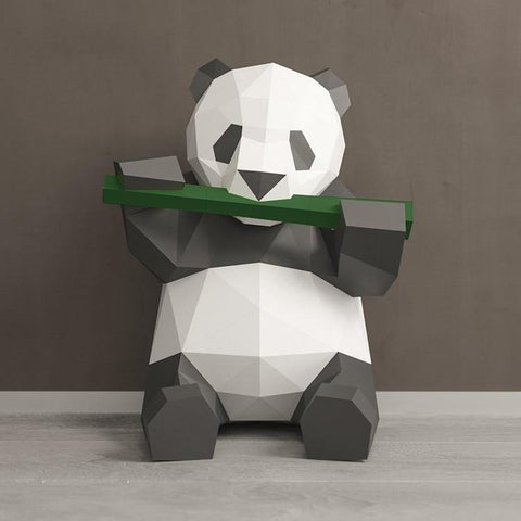 DIY Panda Wall Art
