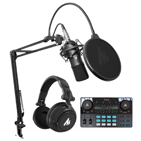 MAONO Professional Podcast Studio Set