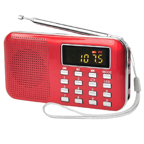 Mini L-218 Digital LCD MP3 Radio
