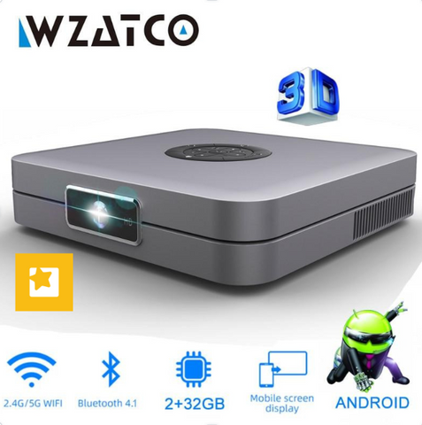 DLP 3D Projector With 300 Inches