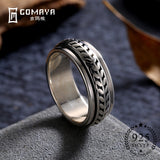 GOMAYA Vintage Street dance Rock Punk Ring
