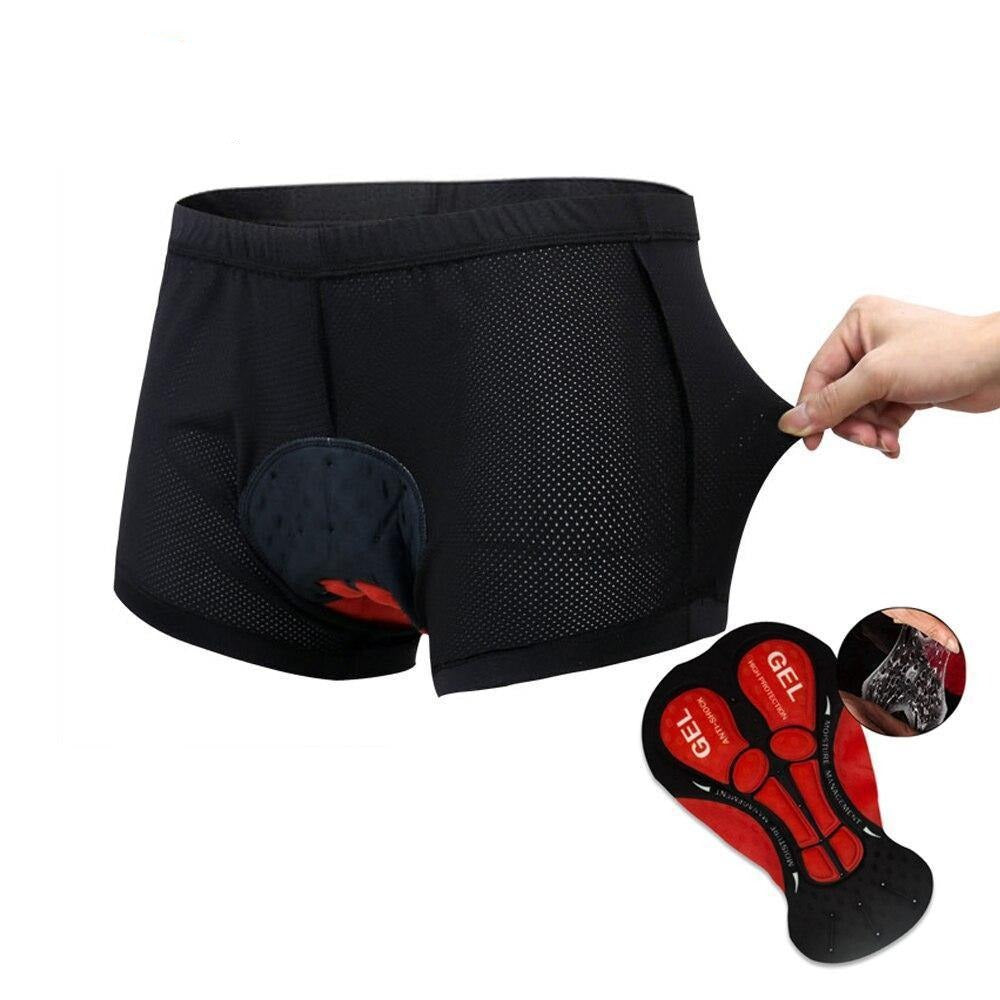 Cycling Jersey Men Bicycle Mountain MTB Shorts Pro 5D Gel Pad - RingeRaya.com