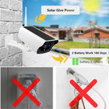 Outdoor Solar Powered Security Camera - RingeRaya.com
