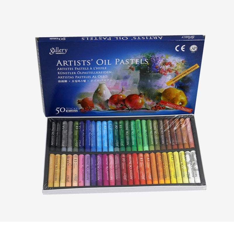 Professional painting oil pastel colors