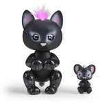 Fingerlings Light-Up Baby Black Panther and Mini - Allec and Ronni