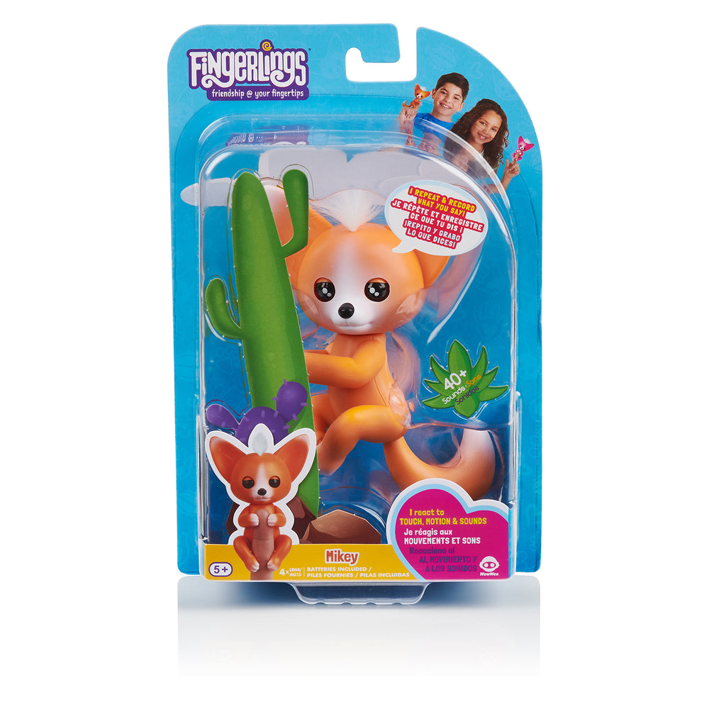 Fingerlings - Interactive Baby Fox - Mikey (Orange)
