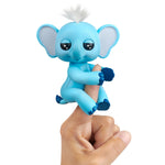 Fingerlings Baby Elephant - Gray (Blue)
