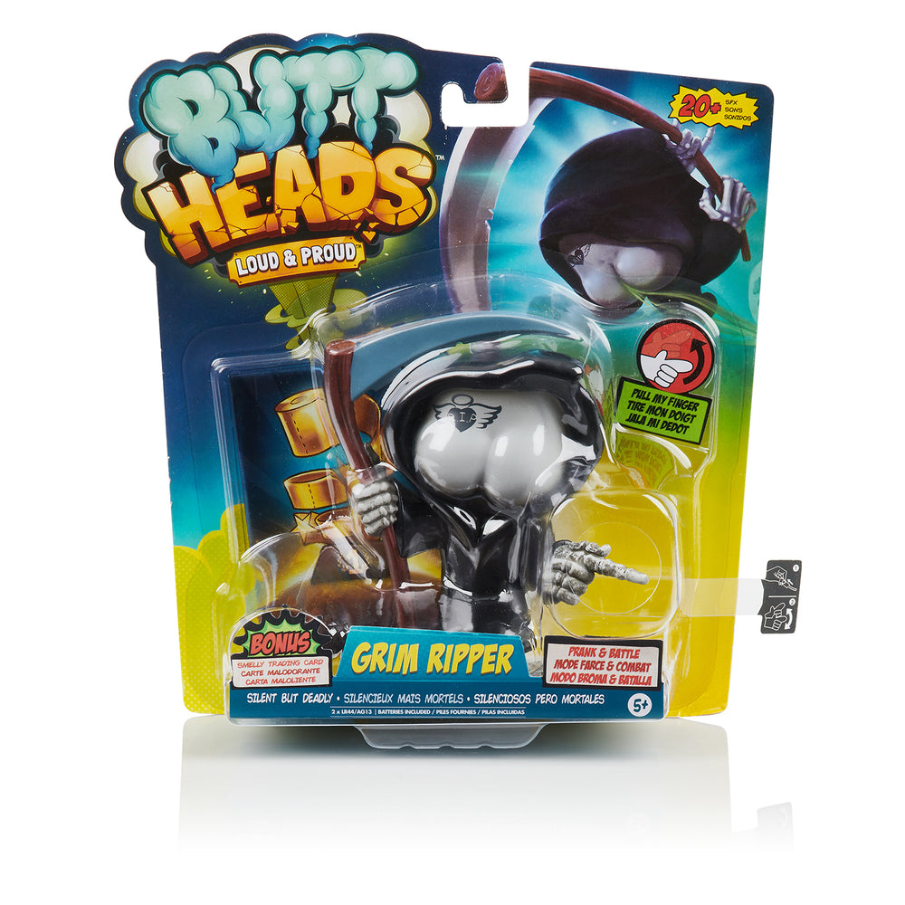 Buttheads - Grim Ripper - Interactive Farting Toy