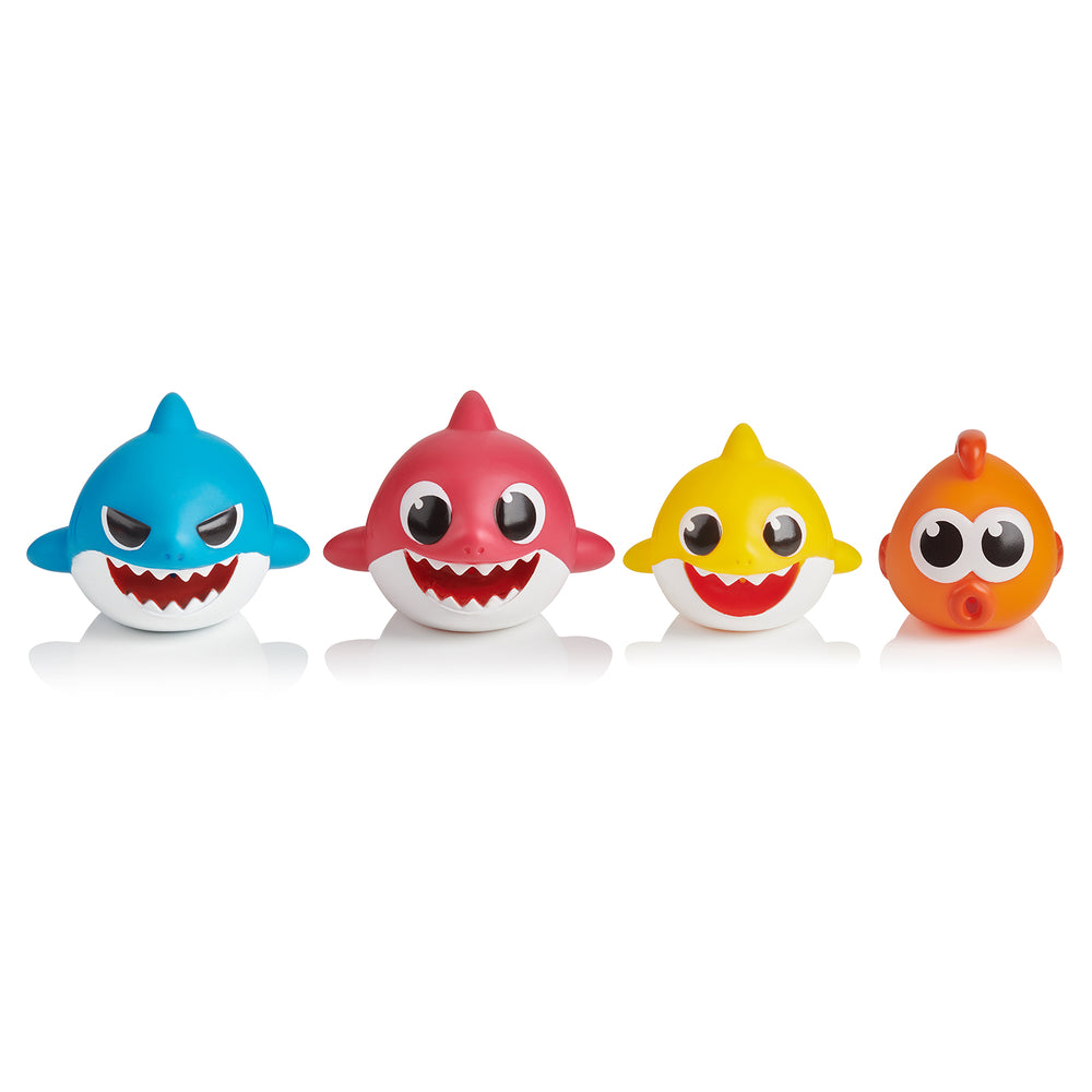 Baby Shark Bath Squirt Toy - 4-pack