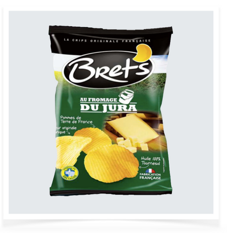 French Jura Cheese Chips - 125g
