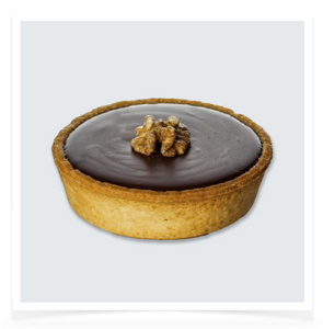 Salted Caramel & Dark Chocolate Tart