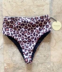 Danica Bottom (high waisted) - Leopard