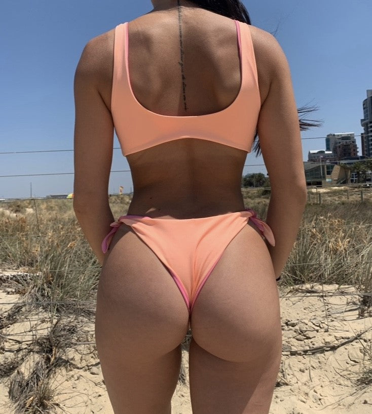 Mia Bottom - Orange/Pink