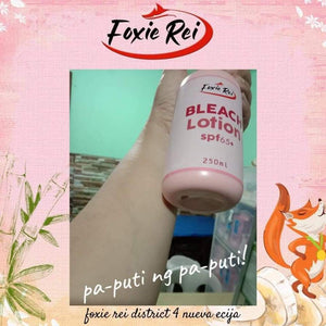 Bleach Lotion – Foxie Rei