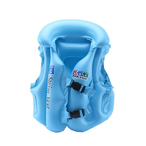 Inflatable Safety Swim Vest For Kids