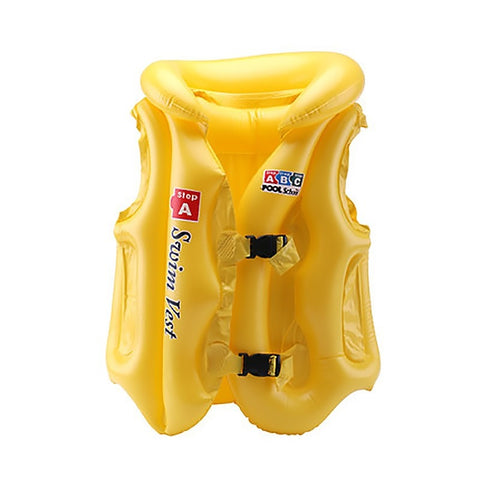 Image of Inflatable Safety Swim Vest For Kids