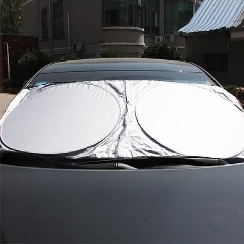 Front Rear Car Window Sun Shade